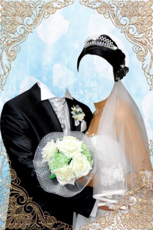 Скачать бесплатно Шаблон свадебной одежды + рамочка. plen. 0. 07:41
