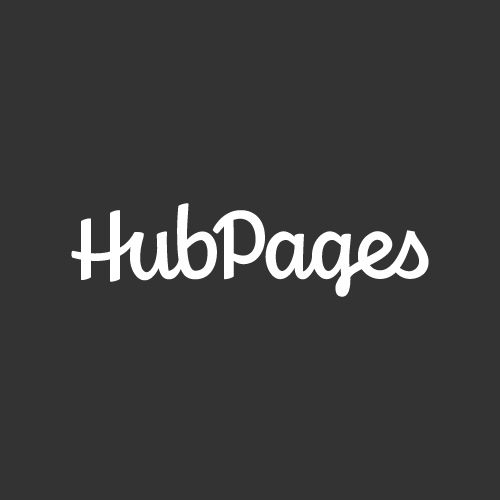 The HubPages logo. That's it.