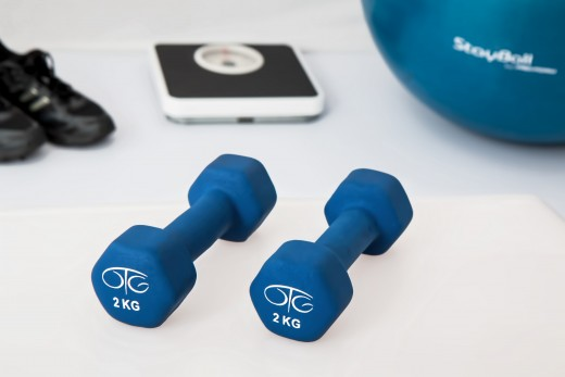 Weight training is essential to getting and keeping the body in shape.