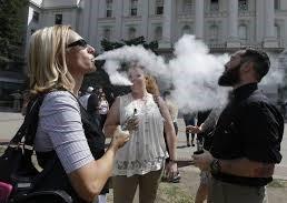 California is targeting vaping.