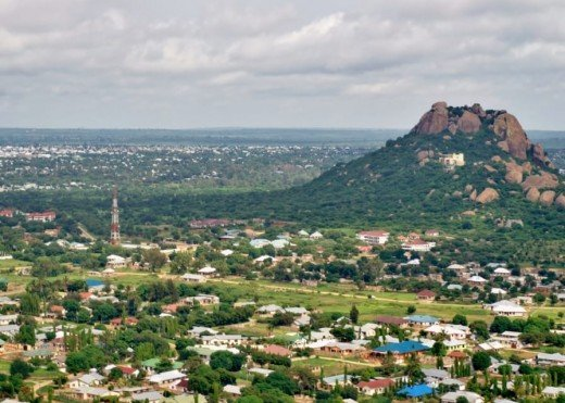 Dodoma, the new inland capital and influenced by Brasilia