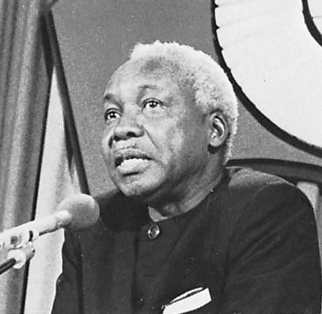 Julius Nyerere, postcolonial visionary who represented a new Tanzania...and a new Africa
