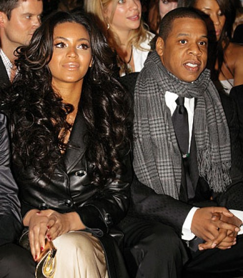 "Shawn ""Jay-Z"" Carter And Beyonce' Knowles"