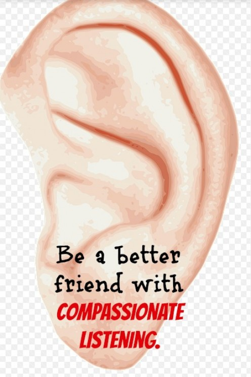 How to Be a Better Friend With Compassionate Listening