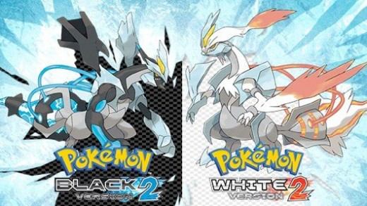 Pokémon Black 2 and White 2.