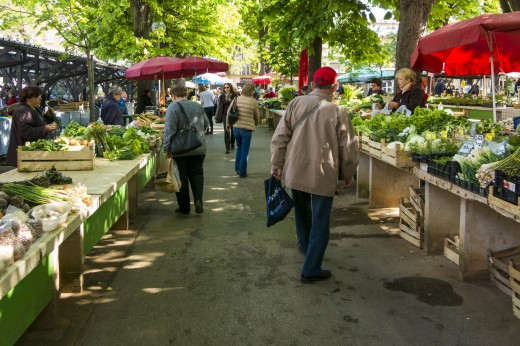 One of many markets across the country