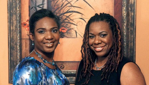 Natalie (left) and Derrica Wilson, co-founders of Black and Missing Foundation. Photo courtesy of Jet Magazine.