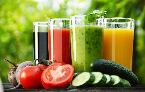 If you have trouble getting enough fruits and veggies into yourself (or your kids!) you can always juice them into delicious and healthy smoothies!