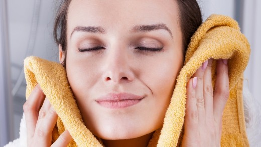 Washing your face at the end of the day just feels so good! Your face will thank you!