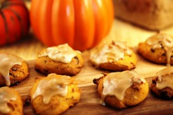 Pumpkin Dark Chocolate Chunk Cookies
