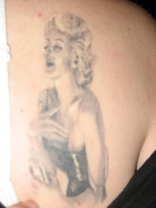 Another horrible Marilyn Tattoo