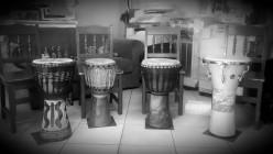 City Woman Drumming