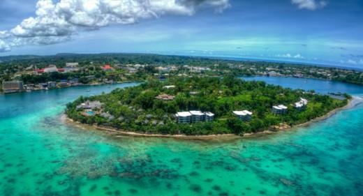 Efate Island, Vanuatu, New Caledonia