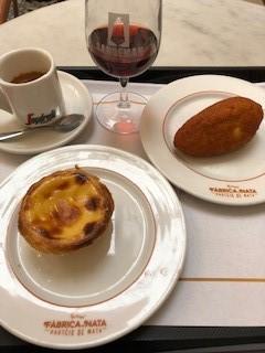 Snack combo in Lisbon!