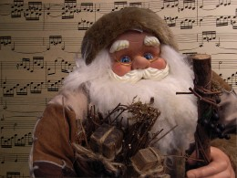 Musical Santa Claus ©Ricoh Gr digital