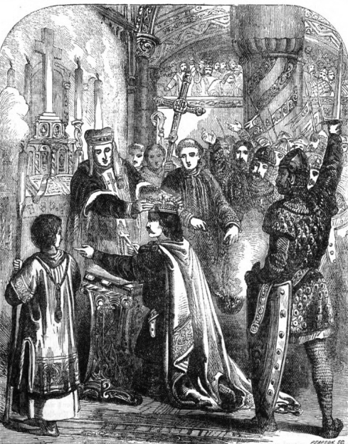 Coronation of William the Conqueror. Attribution: John Cassell.