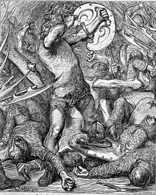 Hereward the Wake. Attribution: John Cassell.