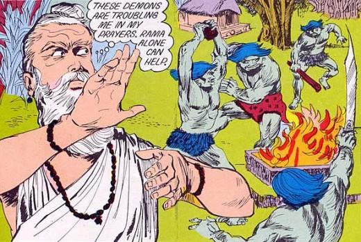 """The Hindu """"Rakshasas"""" creating havoc"""