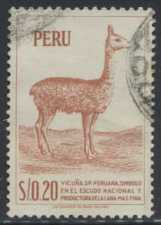 A $0.20 stamp from Peru