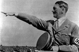 The embodiment of evil, Adolf Hitler