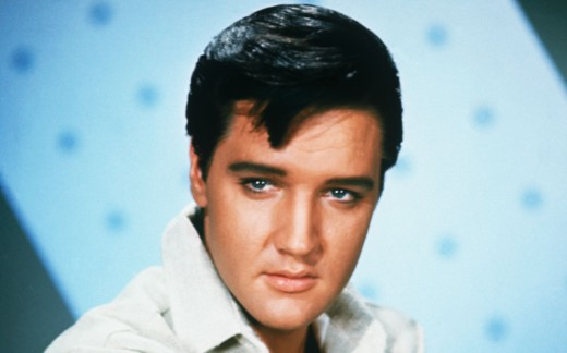 Elvis Presley, iconic star of many a drive-in movie in bygone days