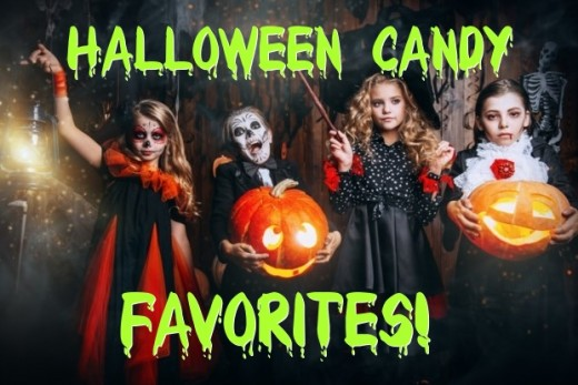 The best Halloween candy through the years!