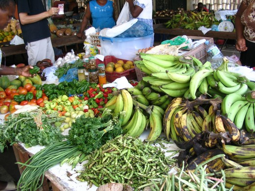 Food Market, Cayenne