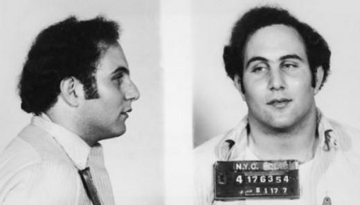 Mug shot of David Berkowitz taken August 11, 1977