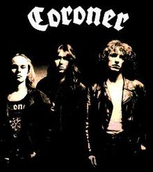 "Coroner ""Punishment For Decadence"" Line Up"