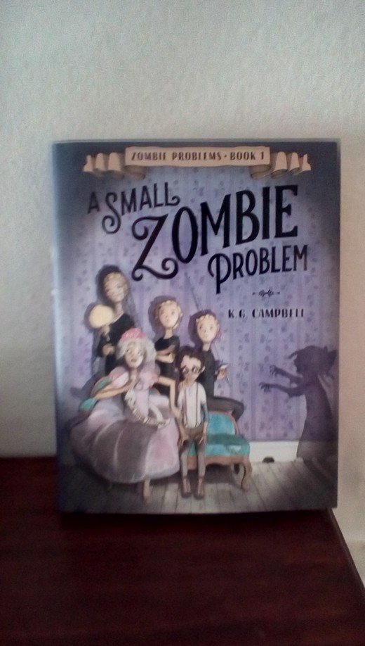 Fun read for ages 8-12.  Hilarious adventures with a small zombie and an odd relative.