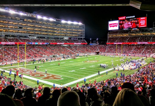 Levi's Stadium has been the home of the 49ers since 2014.
