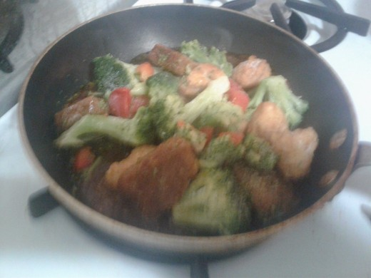 sorry for the poor quality - it's mostly broccoli