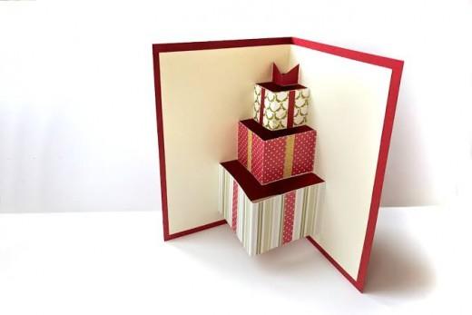 Design Bundles Gift Box Pop Up Card SVG & PDF Desig