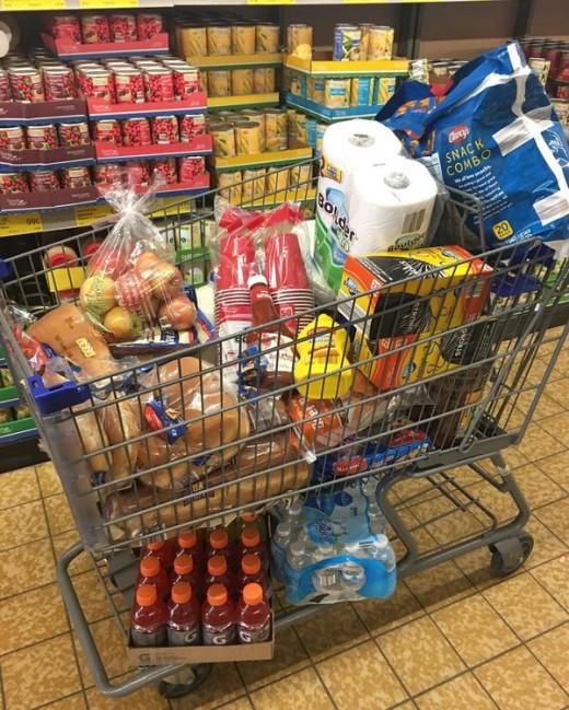 Giant Shopping Carts