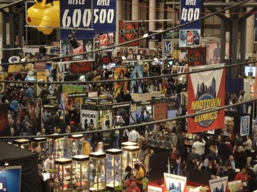 A Comic Con event in New York