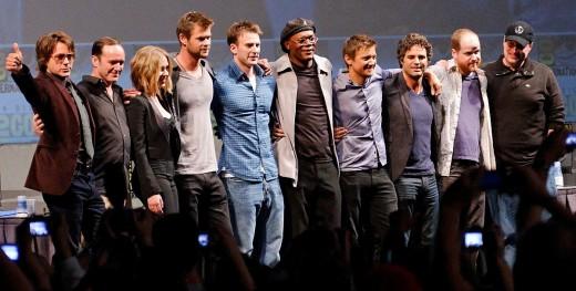 Full Cast of the Avengers in 2010