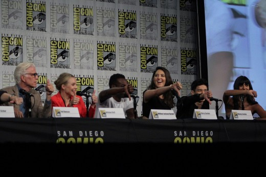 A Discussion Panel at a Comic Con