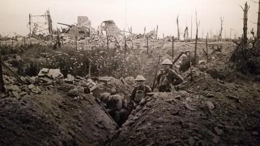 Trench warfare in World War 1