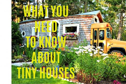 What You Need to Know About Tiny Houses