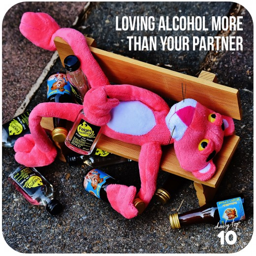 Frequent nights of drinking can be bad not just for your long-distance relationship but also for your health.