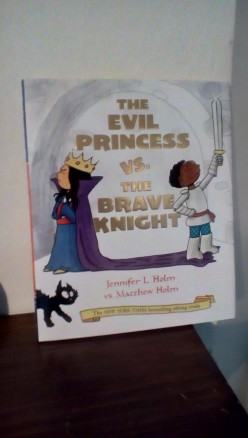 A Princess, a Knight, and Hilarious Family Dynamics in Getting Along in Picture Book by Beloved Babymouse Authors