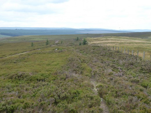 Northumberland National Park is mainly uninhabited moorland.