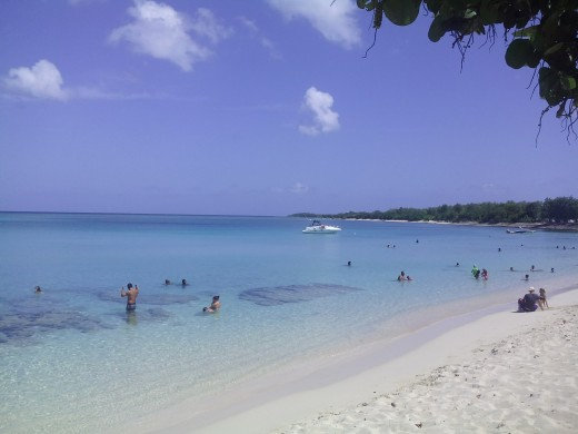 Port-Louis beach, Guadeloupe