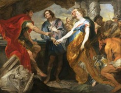 History Painting of Van Dyck and Jordaens
