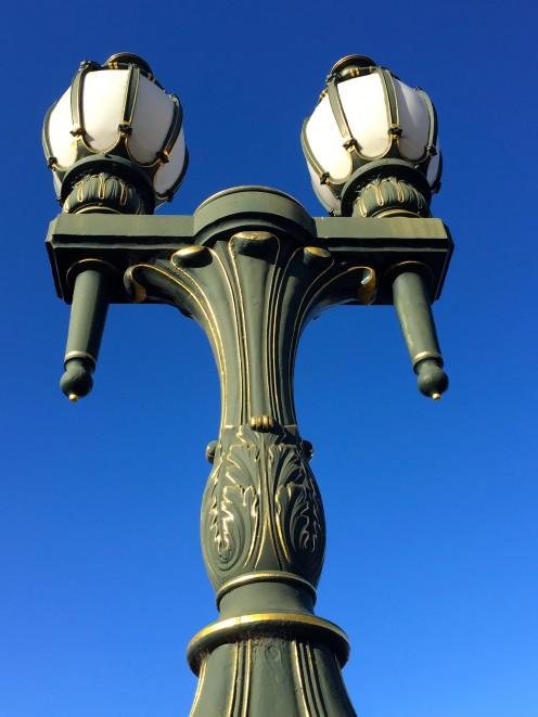 Street Lamp at Yarra River