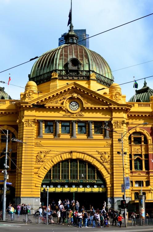 Flinders Street Station - Icon of Melbourne