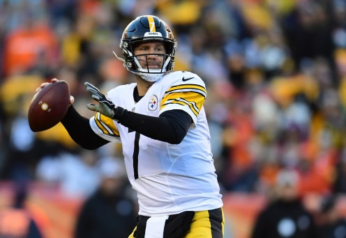 Big Ben is the Steelers' All-time passing leader.