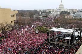 "More than 3.3 Million Americans protested during the 2017 Women's March. ""Experts"" like to ignore these facts when they describe social media users as slackers who complain, but never take action."