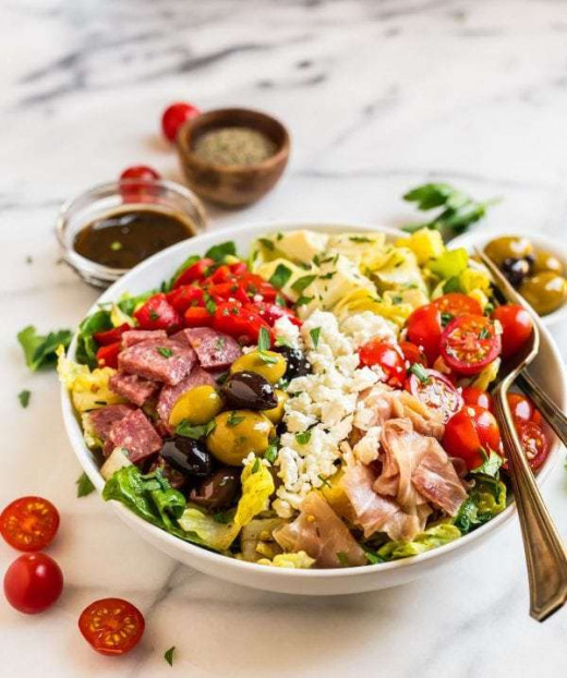 Antipasto Salad for Two