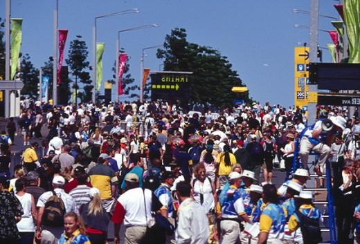 Sydney Olympic Boulevard  Homebush Bay